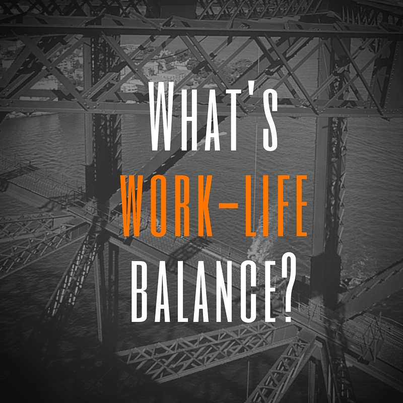 What's work-lifebalance?