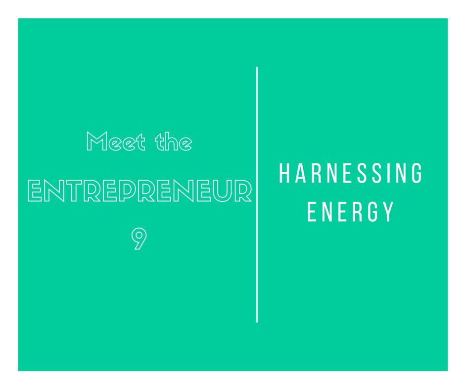 Entrepreneurs and energy