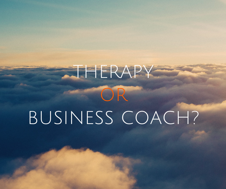 Psychologist or business coach?