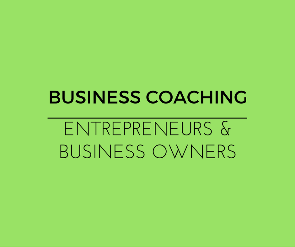 Business coaching for business owners
